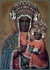 Polish Black Madonna & Child